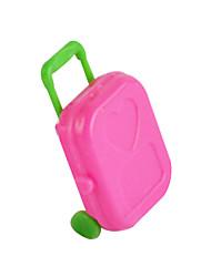 Недорогие -принцесса аксессуары снится тележки чемодан для хранения багажа контейнер моделирования играть дома игрушки