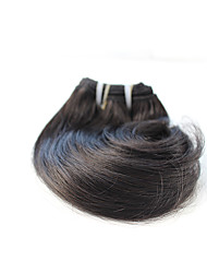 cheap -Brazilian Hair Wavy Natural Color Hair Weaves Human Hair Weaves Black