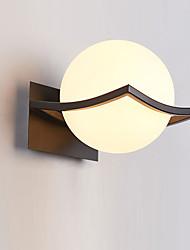 Modern Design Glass Wall Lights Metal Base Cap Bedroom Dining Room Cafe Bars Bar Table Hallway light Fixture