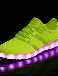 cheap -LED Kid Boy Girl Unisex Upgraded USB Charging 7 Colors LED Led Glow Shoe Breathable Sport Shoes Flashing Sneakers  Luminous
