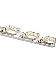 cheap -9W Crystal / LED Bathroom Lighting,Modern/Contemporary LED Integrated Metal
