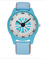 South Korean Style Ladies Fashion Watches Contracted Wind Pointer Candy Color Quartz Watch