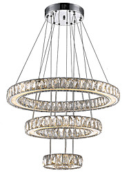 cheap -LED Indoor Lighting Chandeliers Crystal Pendant Lamp Modern Fashion Newest LED Fixtures with 3Ring D204060CM CE FCC ROHS