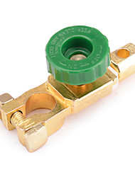 cheap -Jtron 400A Car Battery Power Switch / Battery Switch Head - Golden+Green