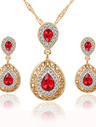 cheap -Women's Jewelry Set Bridal Jewelry Sets Vintage Wedding Party Daily Casual Crystal Alloy Earrings Necklaces
