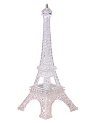 Eiffel Tower LED Lighting Toys Transparent Colorful Plastics Polycarbonate Girls Boys Pieces