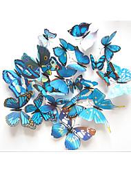abordables -3D Stickers muraux Stickers avion Stickers muraux décoratifs,Plastic Matériel Amovible / Repositionable Décoration d'intérieur Wall Decal