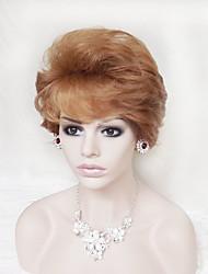 billige -Kvinder Syntetiske parykker Lågløs Naturligt, bølget hår Cosplay Paryk kostume Parykker