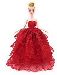 Недорогие -универсальные (за исключением ребенка) 7 одежды свадебное платье полный мешок большой юбка задний дизайн свадебное платье 30 см кукла юбка