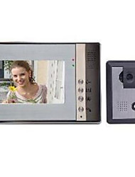 cheap -7 Inch LCD Color Night Vision HD Video Intercom Doorbell Electric Control Lock Without Radiation