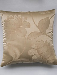 Satin Jacquard Cushion Cover-Golden