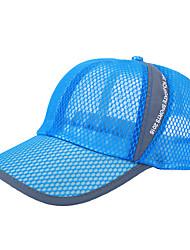 Laufkappe Hut Atmungsaktiv / UV-resistant Unisex Übung & Fitness / Golfspiel / Baseball Frühling / Sommer / Herbst / WinterWeiß / Rot /
