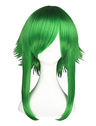 cheap -Cosplay Wigs Vocaloid Gumi Anime Cosplay Wigs 55 CM Heat Resistant Fiber Men's Women's