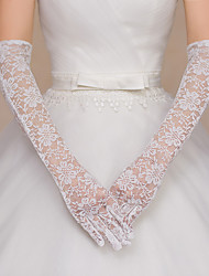 Lace Opera Length Glove Bridal Gloves Party/ Evening Gloves Elegant Style