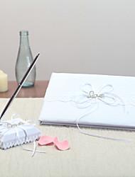 Raso GiardinoWithStrass Libro degli ospiti Set di penne
