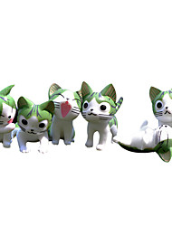cheap -Moss Micro Landscape Decoration Flowerpot Accessories Fleshy Cute Cartoon Cat New Green