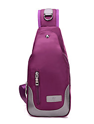 cheap -Women's Bags Nylon Shoulder Bag / Cover Solid Colored Black / Purple / Blue