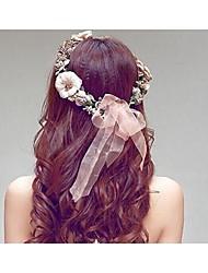 Недорогие -смолы пластиковые головные уборы головной убор элегантный классический женский стиль