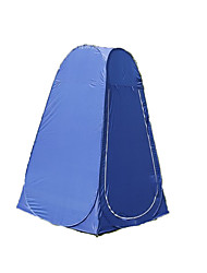 cheap -1 person Shelter & Tarp Tent Single Camping Tent Outdoor Changing Dressing Room Tent Moistureproof / Moisture Permeability Quick Dry