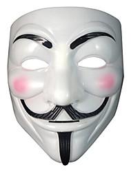 masque type anonyme fawkes accessoire adulte costume de déguisement Halloween