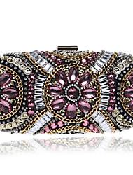 abordables -Femme Sacs Polyester Sac de soirée / Protection Bijoux acryliques pour Mariage / Soirée / Fête / Shopping Noir / Rose / Chair