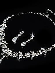 abordables -Femme Strass Ensemble de bijoux - Autres Argent