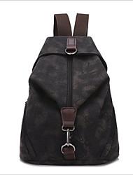 cheap -Women Bags Canvas School Bag for Casual All Seasons Black Gray Red Blue Khaki