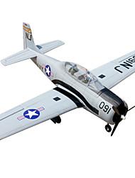 T28 Trojan 5 Kanäle 2.4G 1: 8 RC Flugzeug 50 km / h geringfügige Montage nötig