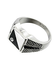 cheap -Men's Band Ring - 18K Gold Plated, Zircon Fashion 8 / 9 / 10 For Party / Daily / Casual