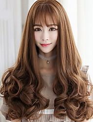 capelli lunghi onda del corpo nuovi arrivi parrucca di capelli sintetici