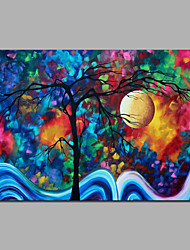 Dot Tree Modern Abstract Style Painting Canvas For Bedroom