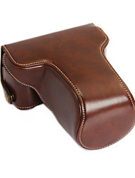 cheap -New XA3 Camera Case(Crazy Horse Leather)for FujiFilm XA3 Mini DSLR Camera (Black/Brown/Coffee)