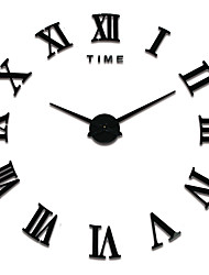 MQ - 004Large Size Creative Diy Wall Clock Art Background Wall Clock Modern Personality Quiet bell