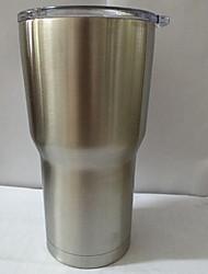 bicapa en caliente de acero inoxidable de la taza del aislamiento de 30 onzas tazas de coches jarra de cerveza de gran capacidad
