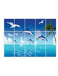 economico -Animali / Romanticismo / Forma / 3D Adesivi murali Adesivi aereo da parete Adesivi decorativi da parete,pvc MaterialeRimovibile /