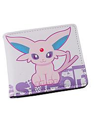 Borsa Portafogli Ispirato da Pocket Little Monster Cosplay Anime Accessori Cosplay A portafoglio Nero Cuoio Uomo Donna