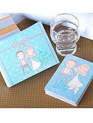 abordables -Novia Novio Dama de Honor Padrino Chica de Flor Portador del Anillo Pareja Padres Bebés y Niños Abridor de Botella Artículos para Bebida
