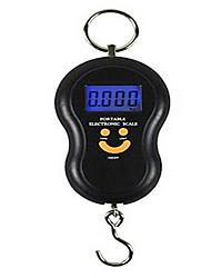 Portable Back Light Hoist Portable Electronic Scale, Baggage, Express Package Hang Scale (50kg Backlight)