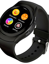 Bluetooth smartwatch mtk2502c ips tela sim card ouvir taxa monitor relógio para apple iphone ios android