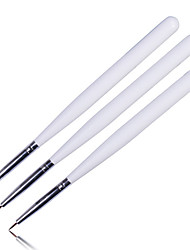 cheap -Manicure Flower Painting Line Drawing Pen Strokes Pull Nail Line Drawing Pen 3PCS.