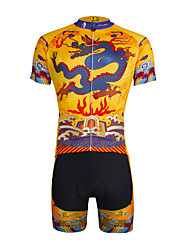 cheap -ILPALADINO Cycling Jersey with Shorts Men's Unisex Short Sleeves Bike Jersey Shorts Clothing Suits Quick Dry Ultraviolet Resistant