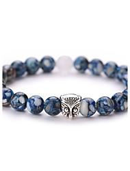 cheap -Adorable Owl Strand Bracelet - Vintage Fashion Geometric Blue Bracelet For Party Daily Casual