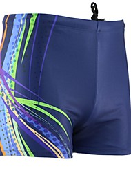 cheap -Men's Swim Shorts Waterproof, Ultraviolet Resistant, Breathable Lycra Swimwear Beach Wear Board Shorts Classic Swimming / Diving / Surfing