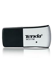 baratos -Tenda 10/100 / 1000Mbps mini-USB WiFi adaptador de rede placa de adaptador receptor placa wireless