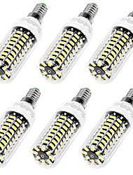 cheap -YouOKLight 6pcs 750lm E26 / E27 E12 LED Corn Lights T 42 LED Beads SMD 5733 Decorative Warm White Cold White 110-130V