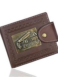 Men Bags All Seasons PU Wallet Rivet for Professioanl Use 1 2