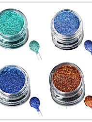 cheap -1 Bottle Nail Art Laser Colorful Glitter Shining Powder Manicure Makeup Decoration Nail Beauty L9-12