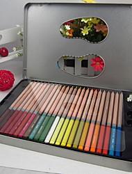 72 cor da água sênior lápis colorido solúvel jardim secreto