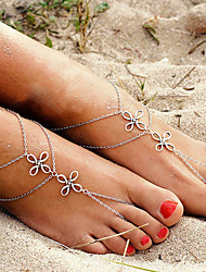 Anklet/Bracelet Others Unique Design Double-layer Fashion Alloy Silver Women's Jewelry 1pc