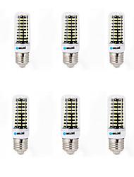 Недорогие -6W E14 G9 GU10 B22 E26/E27 LED лампы типа Корн B 80 SMD 5733 700 lm Тёплый белый Холодный белый К Декоративная AC 220-240 V